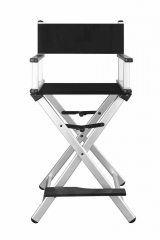 Professional aluminum makeup artist chair foldable director hairdressing chair