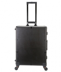 Makeup case with lights rolling studio multimedia Bluetooth system with speakers