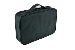 Thick Oxford instrument bag portable instrument case for 370x250x100mm black Oxford box with PE foam inside