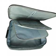 Fabric multifuctional toiletry bag for field trip storage