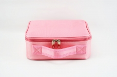 product name: Portable cosmetic case travel makeup train bag EVA adjustable dividers organizer tools case