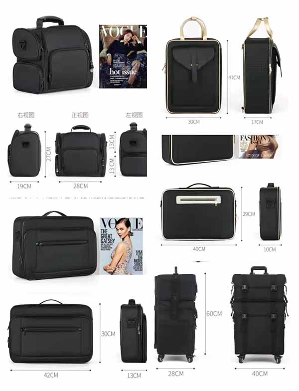 New style Oxford makeup cases for travel 2021